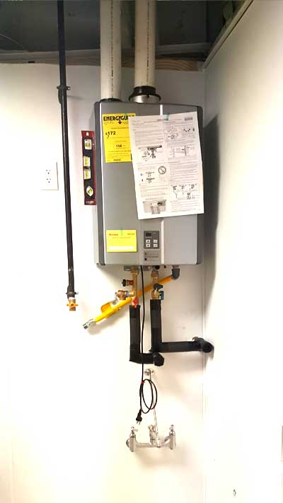 tankless water heater southlake tx